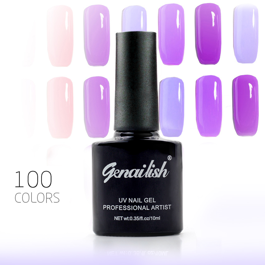100 Colors Gel Nail Polish UV Gel Nail Polish Long lasting Soak off LED UV Gel