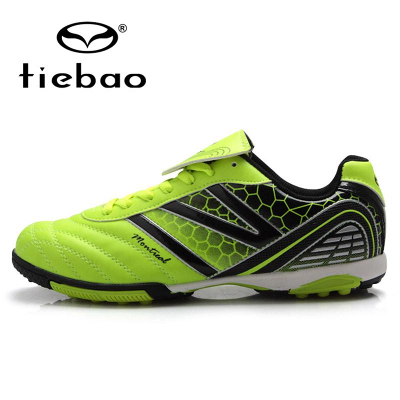Tiebao Professional Outdoor Sport Soccer Shoes Men Women TF Turf Sole Football Boots Training Shoes Sneakers scarpe da calcio(China (Mainland))