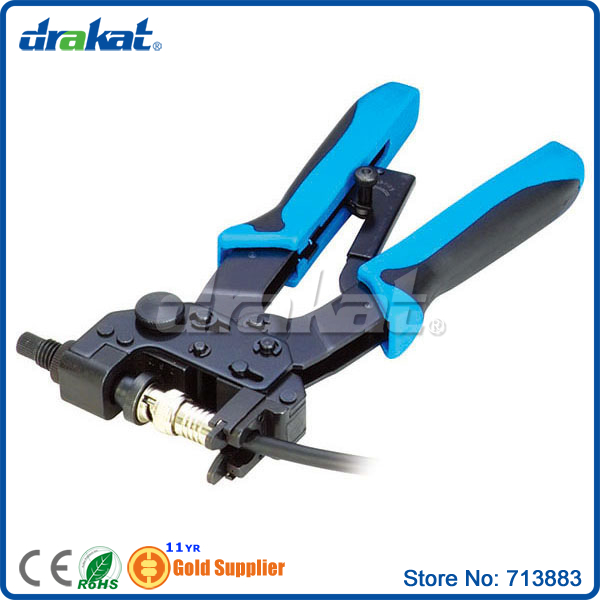 Coaxial Cable Crimping Tool for BNC RCA F Connector(China (Mainland))