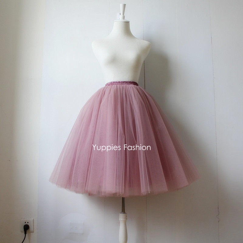 Wonderful  Women Ladies Multi Layers Tulle Tutu Skirt Fashion Women Evening Party