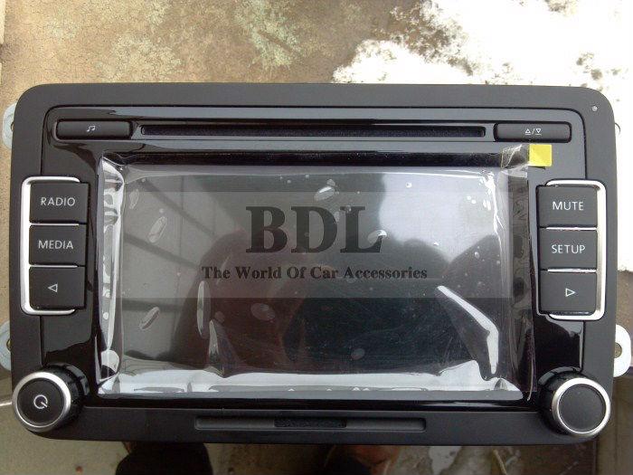 OEM Car Stereo Radio RCD510 USB Unused With Code and Rear View Camera RVC Interface For VW Golf Jetta MK5 MK6 Passat B6 CC B7(China (Mainland))