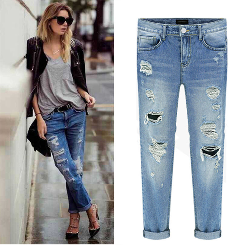 Womens Cropped Jeans Promotion-Shop for Promotional Womens Cropped