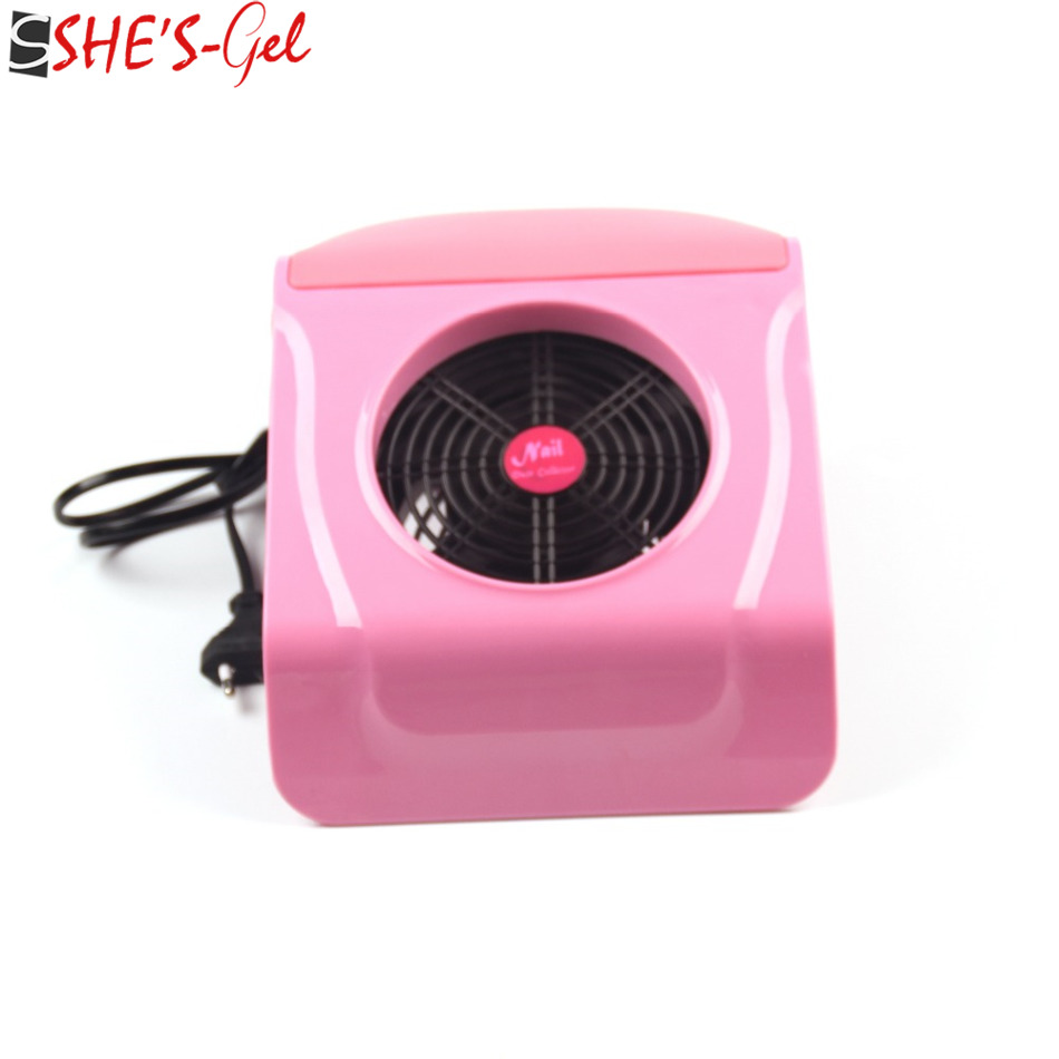 220V/110V Suction Nail Dust Collector Vacuum Cleaner Salon buffer block Tool--ZW01(China (Mainland))