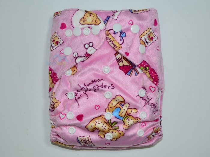 AI2 Waterproof Reusable Minky Pocket Diaper With One 3-Layer Microfiber Insert FR80<br><br>Aliexpress