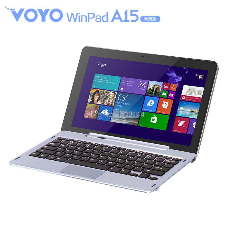 VOYO A15 11 6inch tablet pc 1366 768 windows8 intel z7375 quad Core 2GB 64GB with