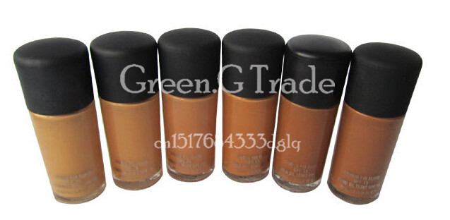 Real Shot A30 Liquid Foundation Studio Makeup Fix Face Nutritious Fluid Foundation Make Up 30ml 48pcs DHL Freeshipping(China (Mainland))