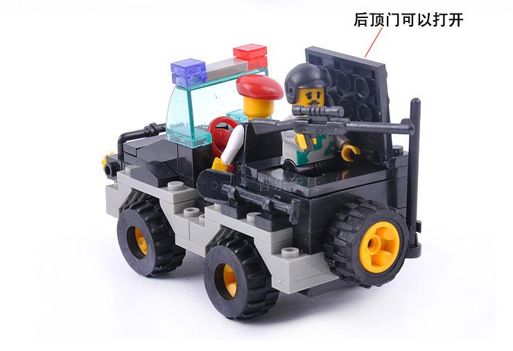 Constructing Block Units Appropriate with lego police Riot police 499 pcs 3D Building Brick Academic Hobbies Toys for Youngsters