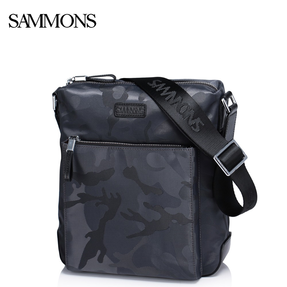 SAMMONS Men's Nylon Messenger Bags Man Waterproof Camouflage Leisure Crossbody Bags Male Satchel Fashion Shoulder Bags SZ5357(China (Mainland))