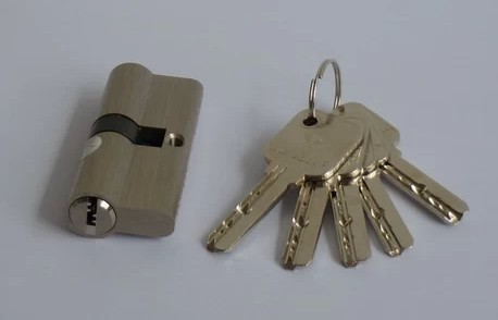Free shipping 70MM High Security Door Mortise Lock Cylinder with keys(China (Mainland))