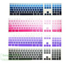 Buy Newest Gradient Keyboard Cover Apple iMac G6 21.5 27 inch Desktop keyboards protective keypad cover Protector for $3.79 in AliExpress store
