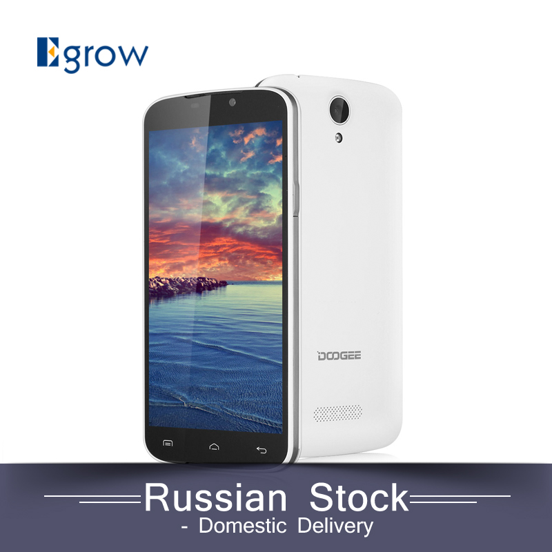 Original DOOGEE X6 5.5inch Android 5.1 Mobile Phone MTK MT6580 Quad Core Cellphone Dual SIM GSM/WCDMA Smartphone(China (Mainland))