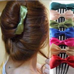 Free Shipping New Arrival 20pcs/lot Many Colors Fashion Women Girls Ribbon Bow Hair Clips Accessories for the Hair A01113