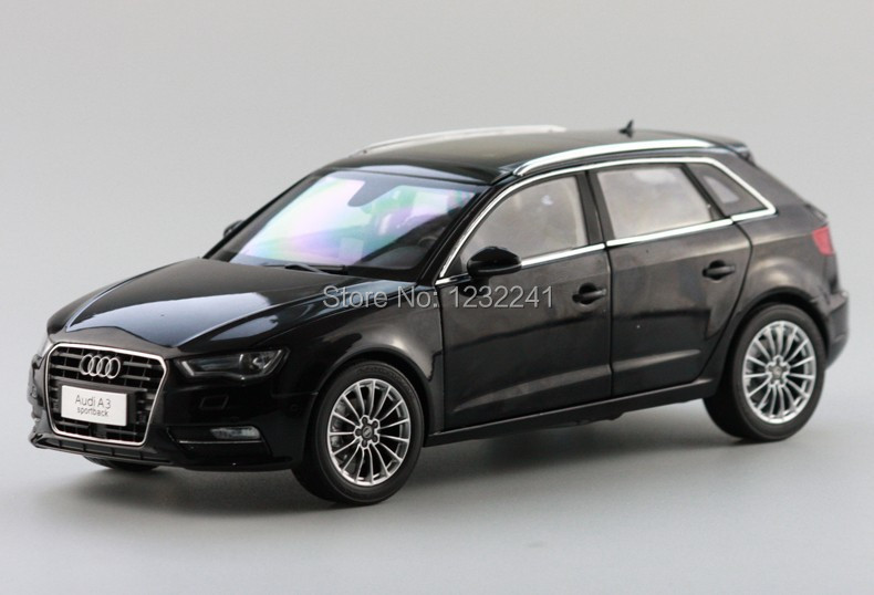 Free Shipping New Details 1:18 China Volkswagen VW AUDI A3 SPORTBACK alloy car model simulation Toys Gift for Children,Black(China (Mainland))