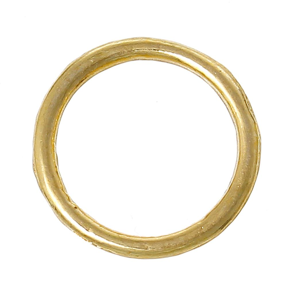 """Closed Soldered Jump Rings Round Gold Plated 14mm(4/8"""")Dia,300 PCs 2015 new(China (Mainland))"""