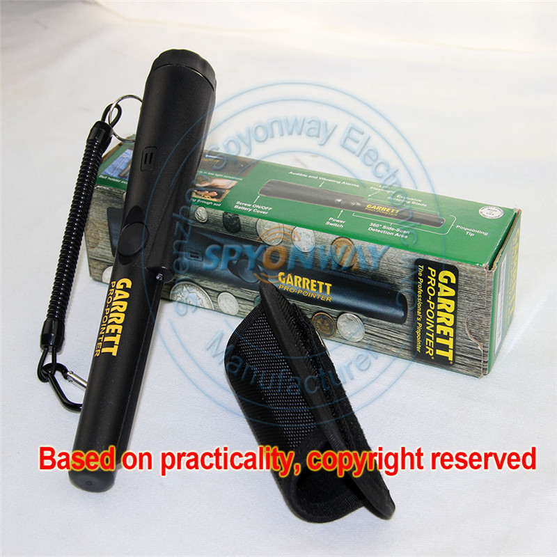 2016 New Arrival Hand-Held Security Search Metal Detector Wand Pro Pointer