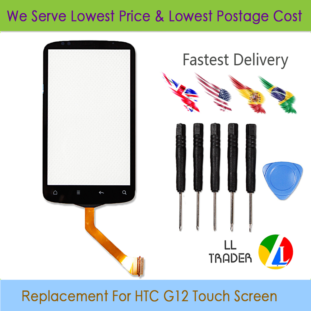 1 Piece G12 Original Quality For HTC Desire S S540e G12 Touch Screen Digitizer Free Tools Free Shipping