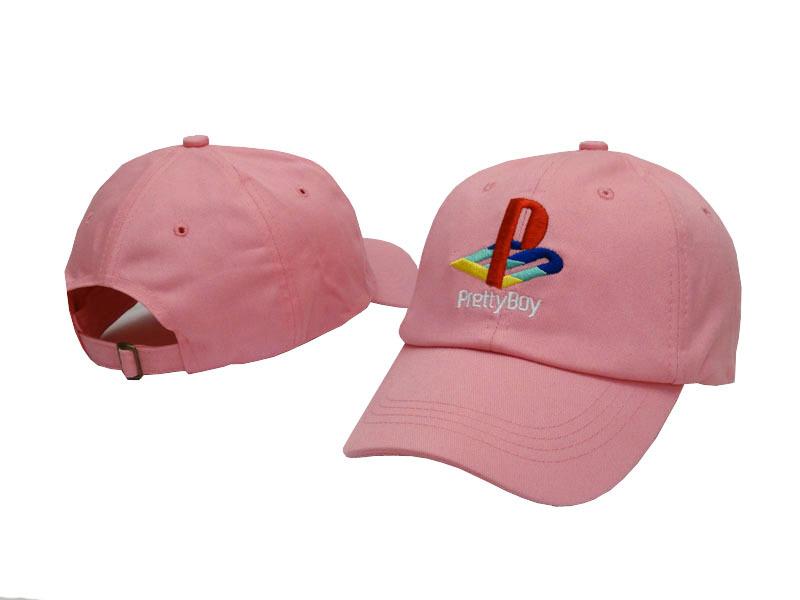 Exclusive customized design 6 Panel brand Pretty Boy cap Playstation classic LOGO Baseball golf hat palace 6 god snapback hat(China (Mainland))