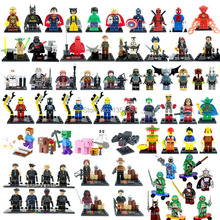 Marvel Super Hero Star Wars Figures The Avengers SWAT City Building Blocks Sets Minifigures Classic Toys Bricks Mega Compatible(China (Mainland))