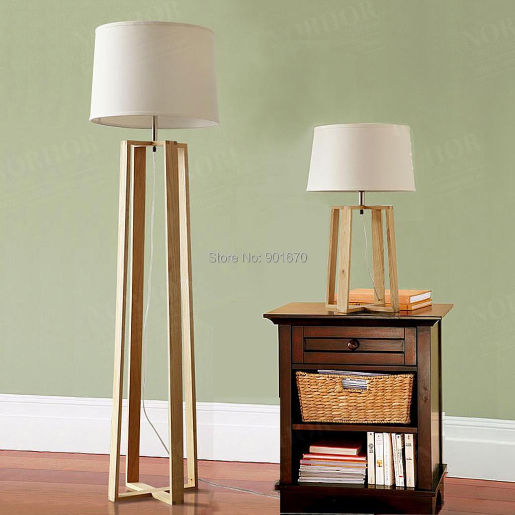 wood floor lamp. Black Bedroom Furniture Sets. Home Design Ideas