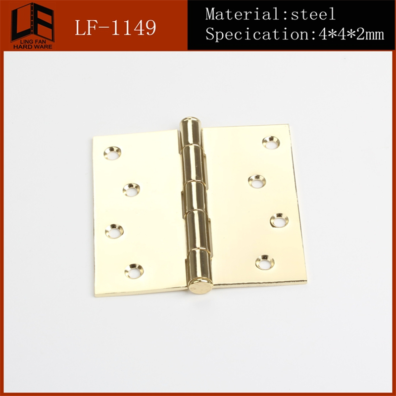 2016 hot sale high quality best price 4x4x2mm ball bearing door hinges(China (Mainland))