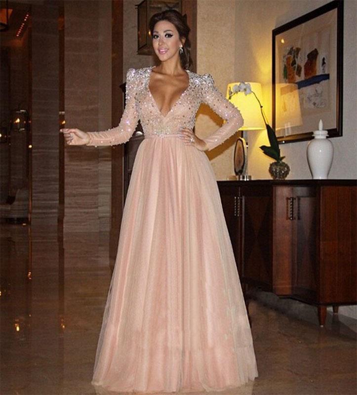 Popular Pink Celebrity Dresses-Buy Cheap Pink Celebrity Dresses ...