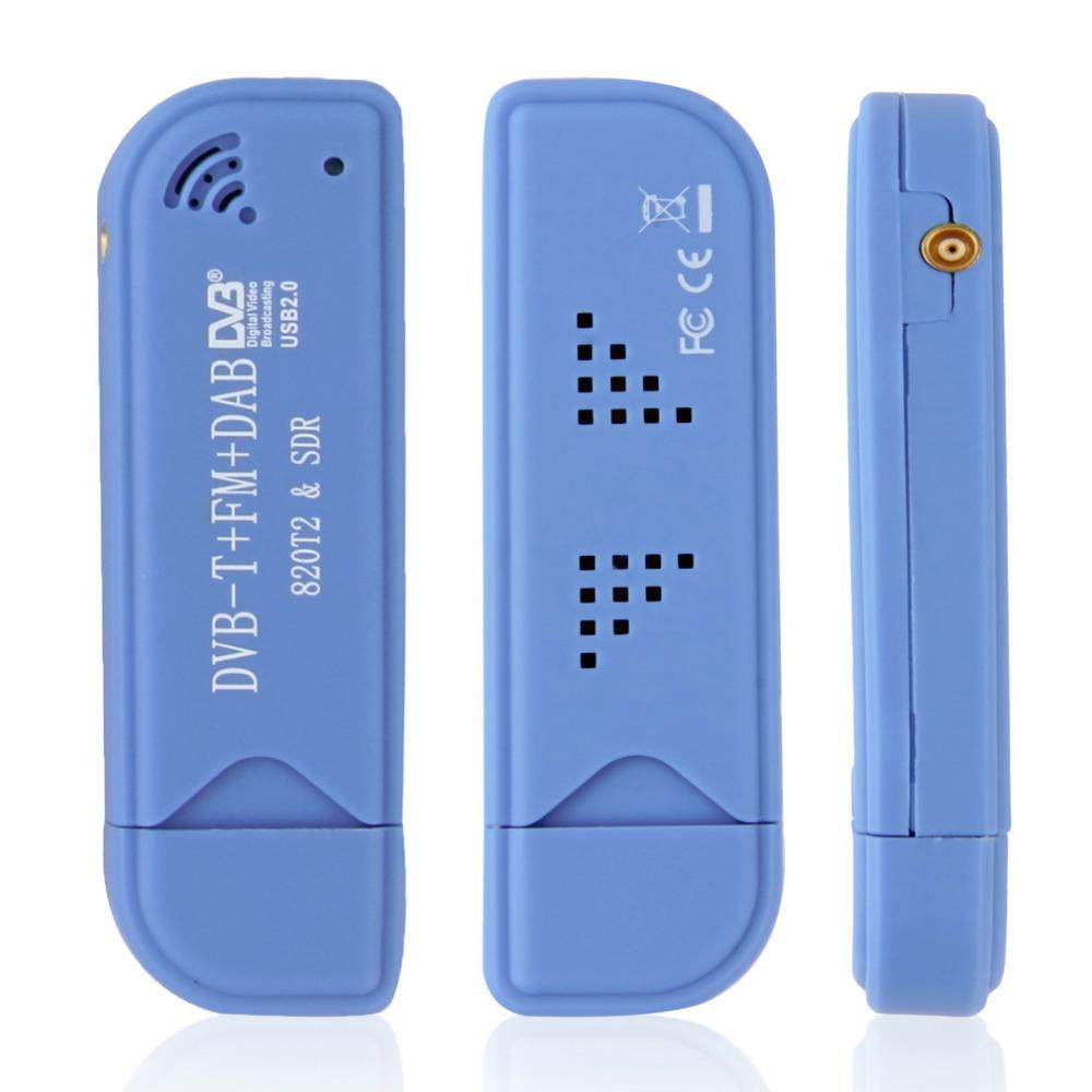 USB2 0 Digital DVB T SDR DAB FM HDTV TV Tuner Receiver Stick HE RTL2832U R820T