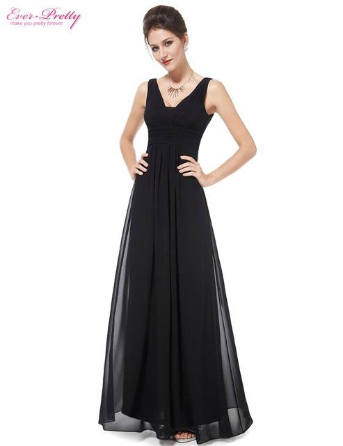 Вечерние платья бесплатная доставка 2015 элегантный черный глубокий v-образным вырезом ...