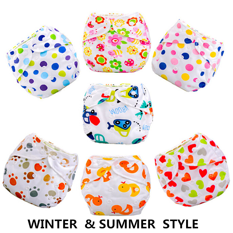 1pcs Baby Diapers/Children Cloth Diaper/Reusable Nappies/Adjustable Diaper Cover/Washable RFDE52136(China (Mainland))