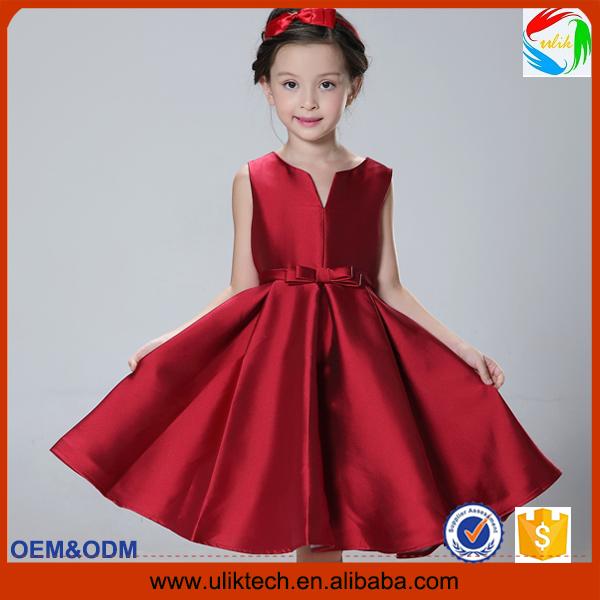 2015 Newst style summer splendid child dress for princess girl party dress wholesale ruffle boutique flower girl dress (UK0260)(China (Mainland))
