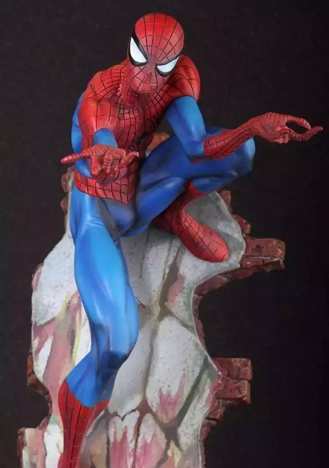 "Фотография Marvel Crazy Toys Spiderman The Amazing Spider-man PVC Action Figure Collectible Model Toy 2 Styles 18"" HRFG480"