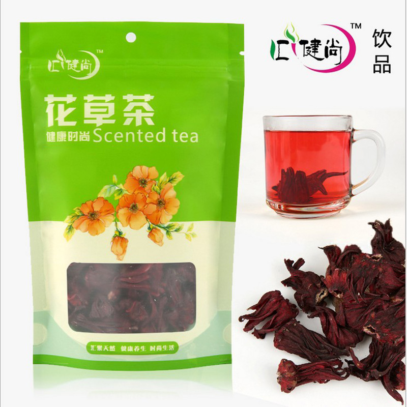 Promotion health care Hibiscus tea Roselle tea natural flower scented tea fit detox tea free shipping