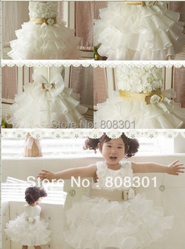 (5pcs/lot )Factory wholesale covered with flower pattern cascading Princess ocean cloths- girls dress