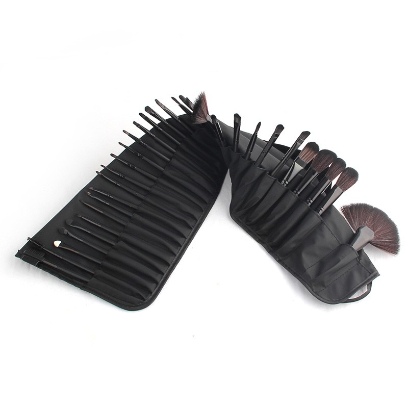48hours Shipping, 32pcsset Black Profeesional Makeup Pinsel Face Lip Foundation Powder Cosmetic Make-up Kit + Pouch Bag (39)