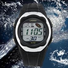 Más nuevos hombres del muchacho reloj militar Digital relojes deportivos impermeable relojes Outdoor Sport reloj para hombre LED reloj electrónico