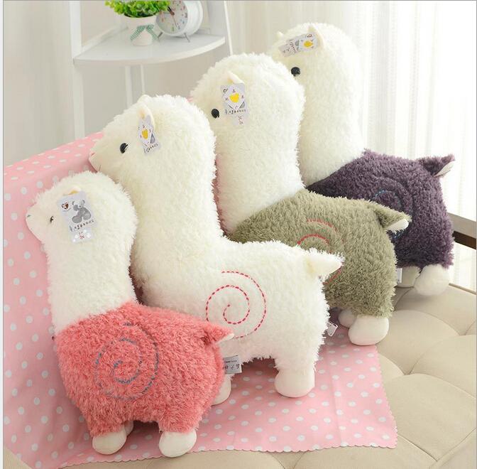 Высокое качество 25 см альпака япония развлечь Alpacasso Arpakasso плюшевые куклы дети альпака рождественские подарки