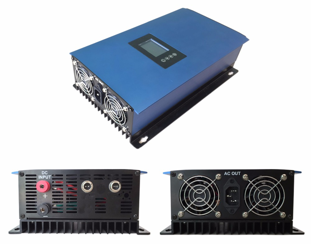 2000W Solar Grid Tie inverter With LCD&internal limiter function, MPPT pure sine wave grid tie solar inverter DC45-90V to AC230V(China (Mainland))