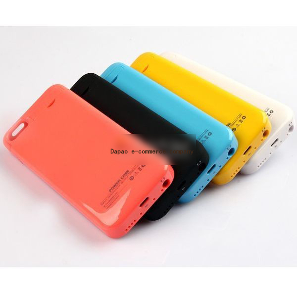 Hot Selling 2015 Newest External Battery Case For iphone5C Large real Capacity 2200mah power Battery Case For iphone5s Mophi(China (Mainland))