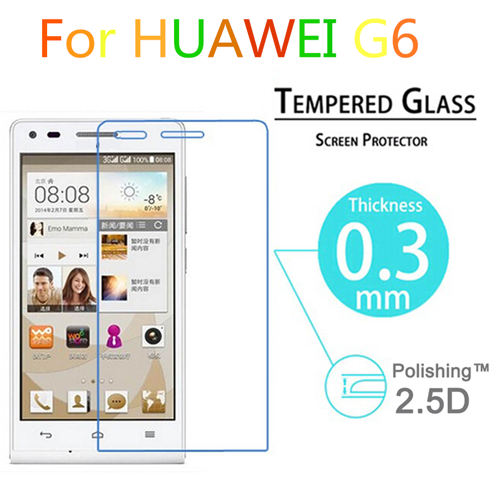 G6 Premium 0 3mm 9H Explosion Proof Toughened Tempered Glass font b screen b font For