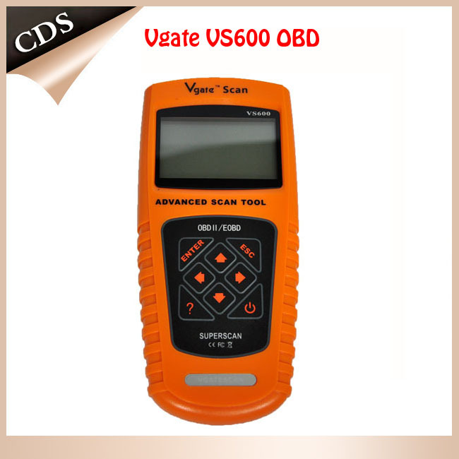 Free shipping Vgate VS600 ODB2 II EODB CAN Auto Car Scanner Diagnostic Fault Code Reader Tool(China (Mainland))