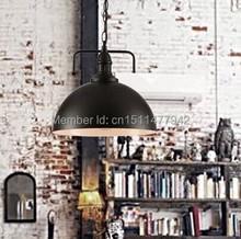 5pcs/lot bell canopy E27 D300mm*H250mm edison filameny bulb vintage loft pendant lamp(China (Mainland))