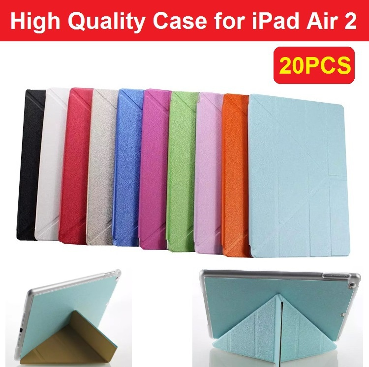 2 2015 Newest Leather Case Cover iPad Air 6 Ultra-thin Slim Hard Back - 3C Cases Specialist store