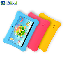 iRULU Y1 7'' Kids Tablet for Children Quad Core IPS Screen 1024*600 Android 4.2.2 1GB+8GB Wifi Babypad With Case Gift 2016(China (Mainland))