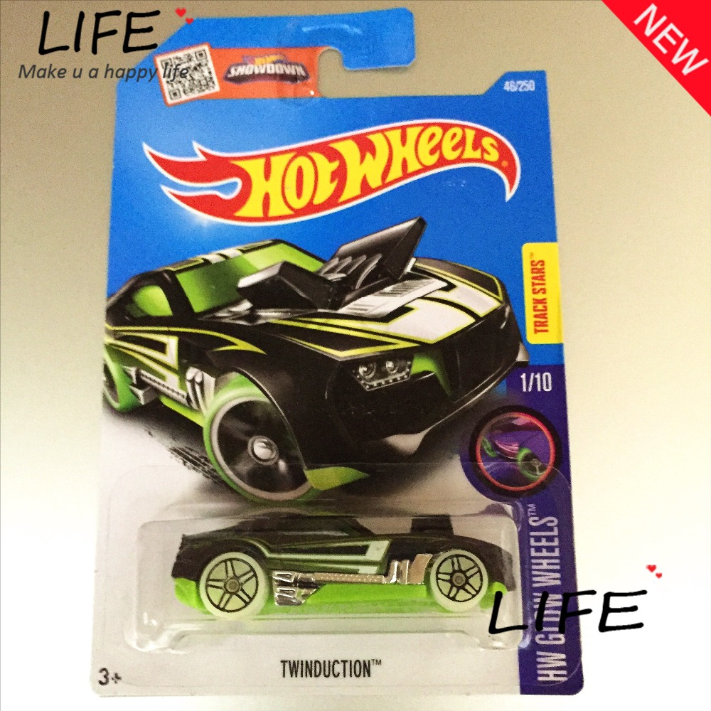 2016 Free Shipping Hot Wheels twinduction Car Models Metal Diecast Cars Collection Kids Toys Vehicle For Children Juguetes(China (Mainland))