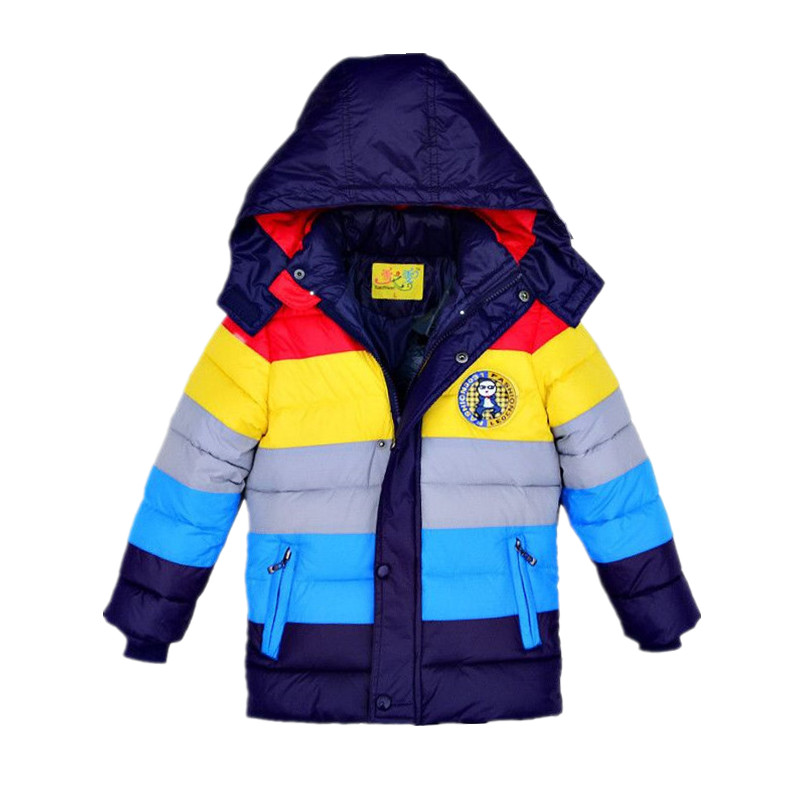 3-9 yrs Children Jackets Boys Girls fashion down coat 2017 New Baby Winter Coat Kids warm winter outwear hooded Hight quality(China (Mainland))