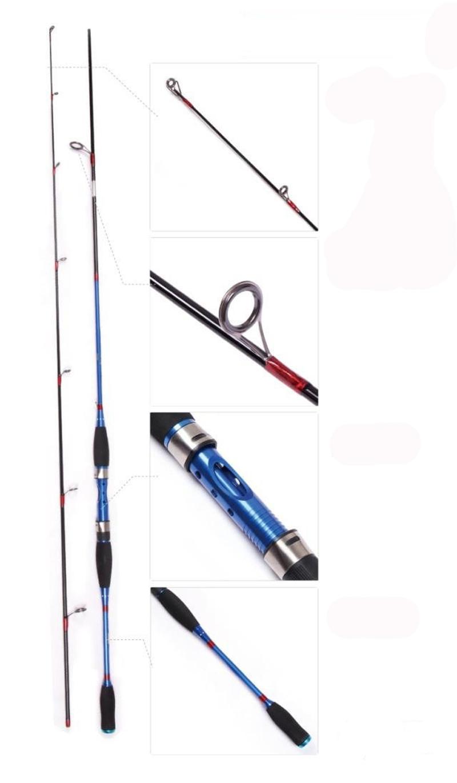 120g 150g 1 8m 5 9ft ultralight bait casting fishing rod for Casting fishing rod