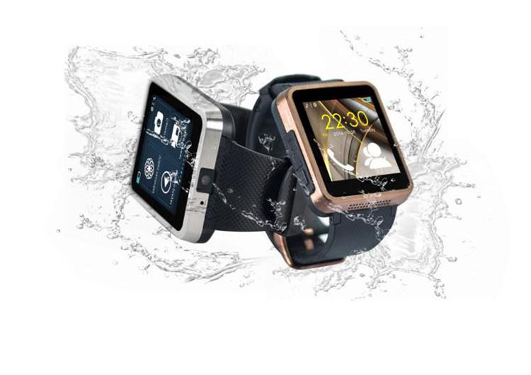 2pcs Smart Bluetooth Watch Phone F1 Men Women Health Waterproof Wristwatch Camera SIM Sync SMS Facebook Pedometer Sleep AntiLost(China (Mainland))