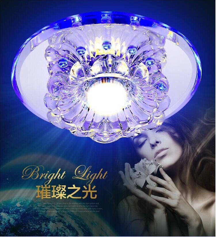 Lustres De Teto Sala Luminaria Modern Lighting LED Ceiling Lights Living Room Aisle Luminarias Home Decoration Crystal Lamp - credit200 store