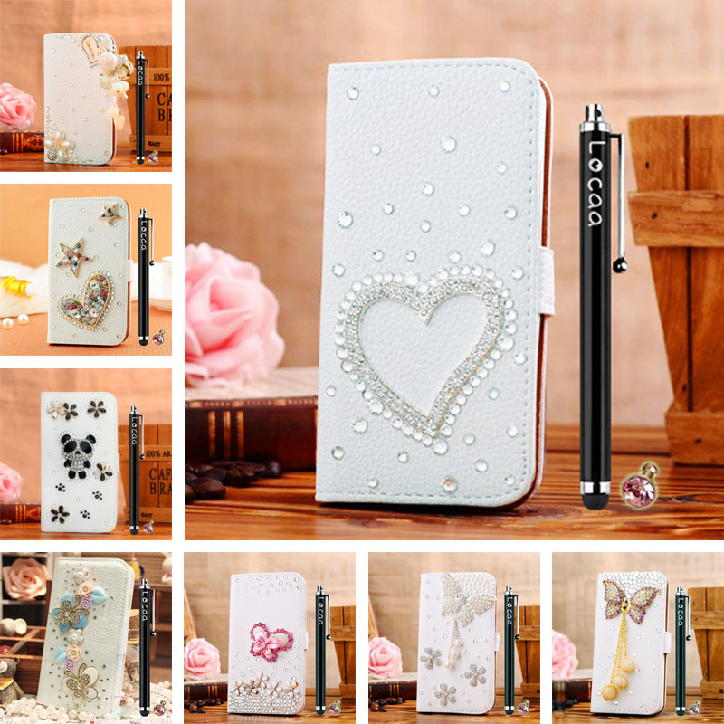3D Bling Leather Attractive Fashion Business Pearl Butterfly Like Shell Cover Case For Samsung Galaxy J7 J700F [General 1](China (Mainland))