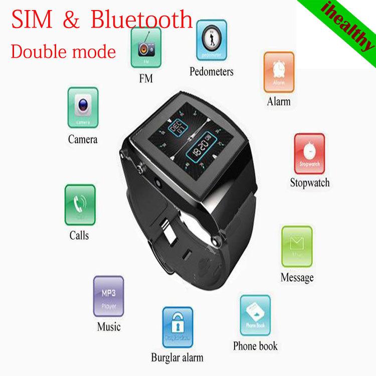 Hot Sale Hi-watch L15 Men Women Smart Watch Bluetooth Watch Mobile Phone Android Smartphone Phonecalls Hi Watch Double Mode(China (Mainland))