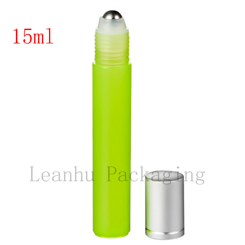 15 ml High quality roll on perfume plastic bottles 15 cc deodorant container with roller ,cosmetics bottles for perfumes, oil(China (Mainland))